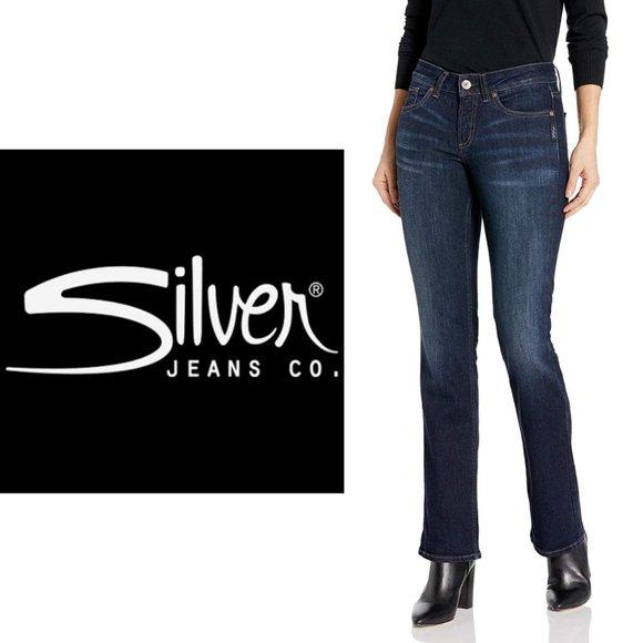 Silver Suki Bootcut Jeans - 33x32